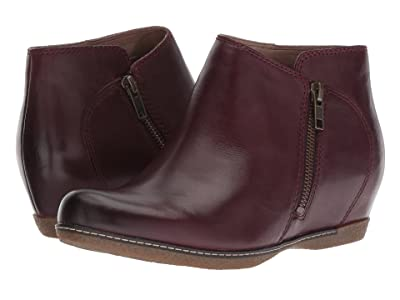 Dansko Leyla (Wine Burnished Calf) Women