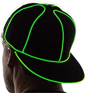 Light Up Snapback Hat Boys & Girls LED Baseball Accessory