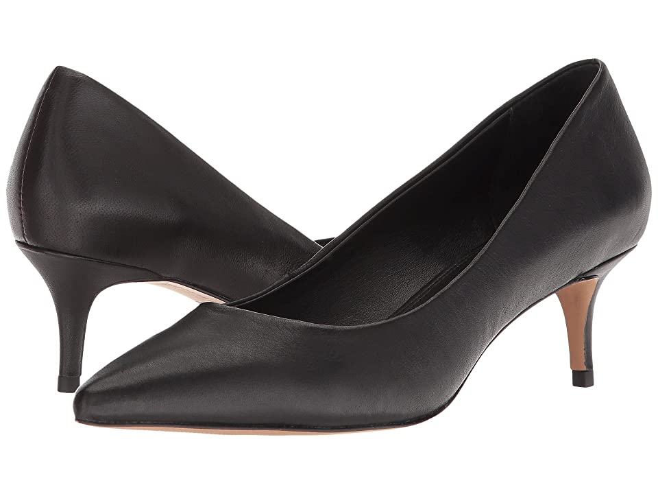 Steven Kava (Black Leather) High Heels