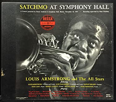 Louis Armstrong Satchmo At Symphony Hall Lp Vinyl Record