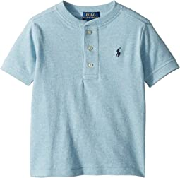 Featherweight Cotton Mesh Henley (Toddler)