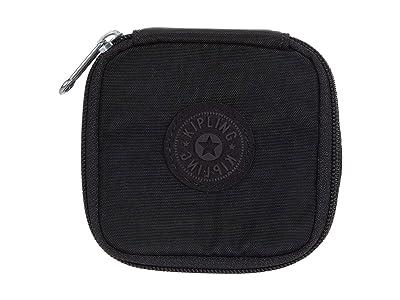 Kipling Joyful Travel Jewelry Pouch (Black Noir) Wallet