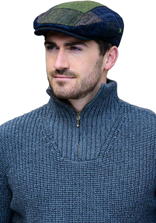 Mucros Weavers Men's Patchwork Irish Cap - Multicolored
