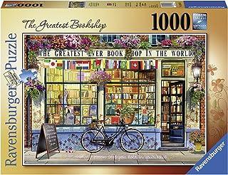 Ravensburger 15337 The Greatest Bookshop Puzzle Game 1000-Pieces
