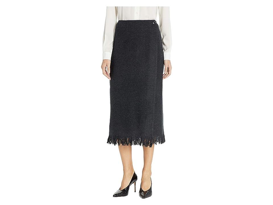 Pendleton - Pendleton Fringed Wool Wrap Skirt