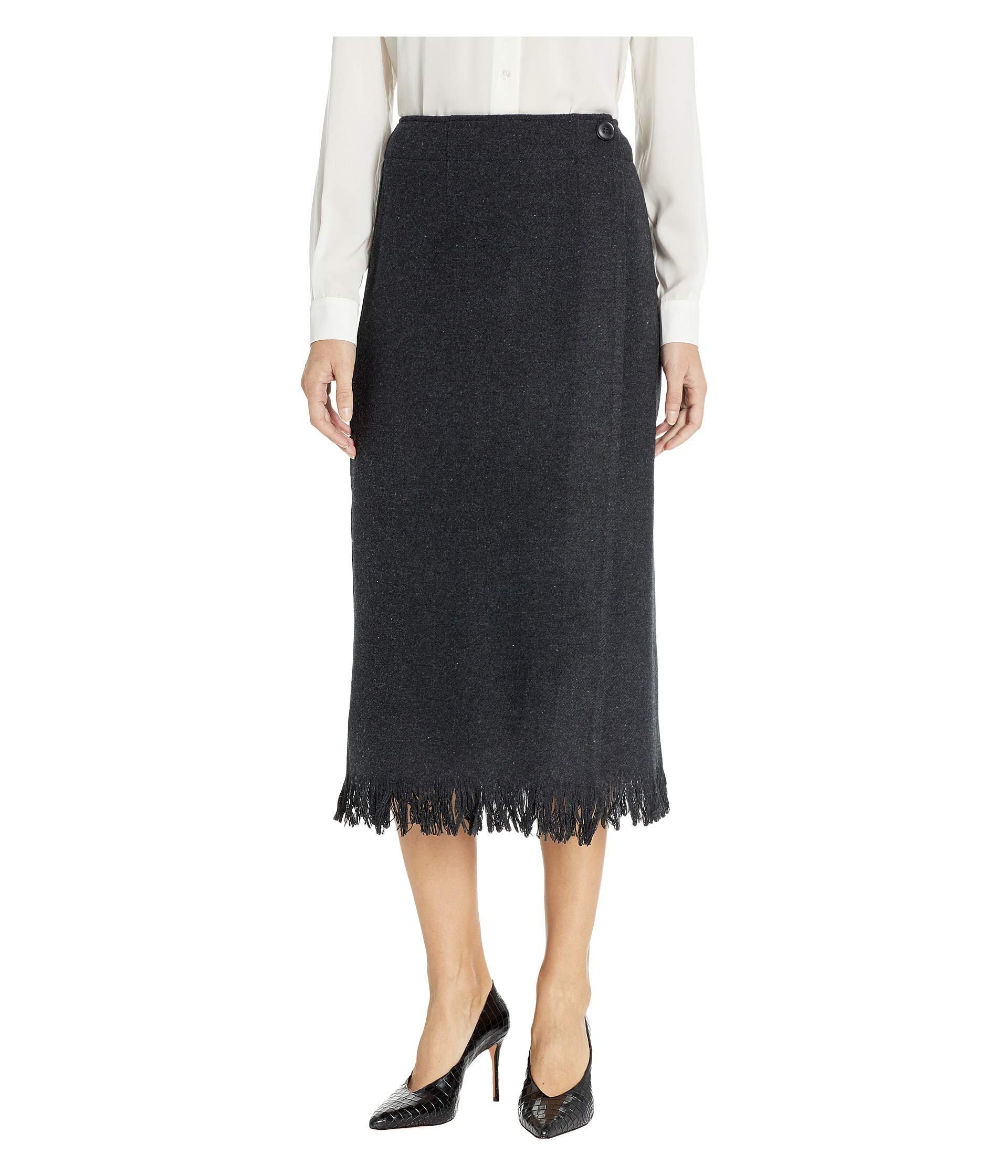 Pendleton Women's Fringed Wool Wrap Skirt