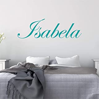 Details about  /Personalised Wall Sticker Name Word Text Sign Decal Mural WallArt Gift Kids Room
