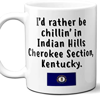 Indian Hills Cherokee Section Kentucky Coffee Mug Souvenir Gift.