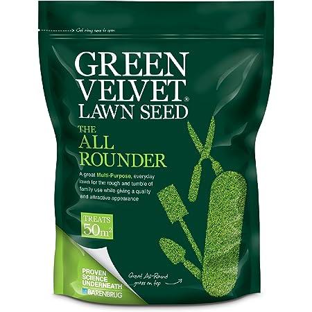 """Barenbrug Green Velvet Grass Seed /""""The All Rounder/"""" 1.75 kg"""