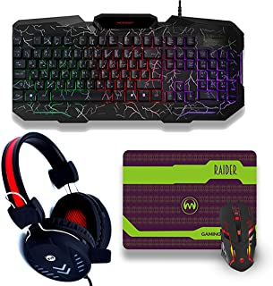 Mechanical keyboard gaming- Best Gaming mouse and keyboard with headphones compactable for computer accessories لوحة مفاتي...
