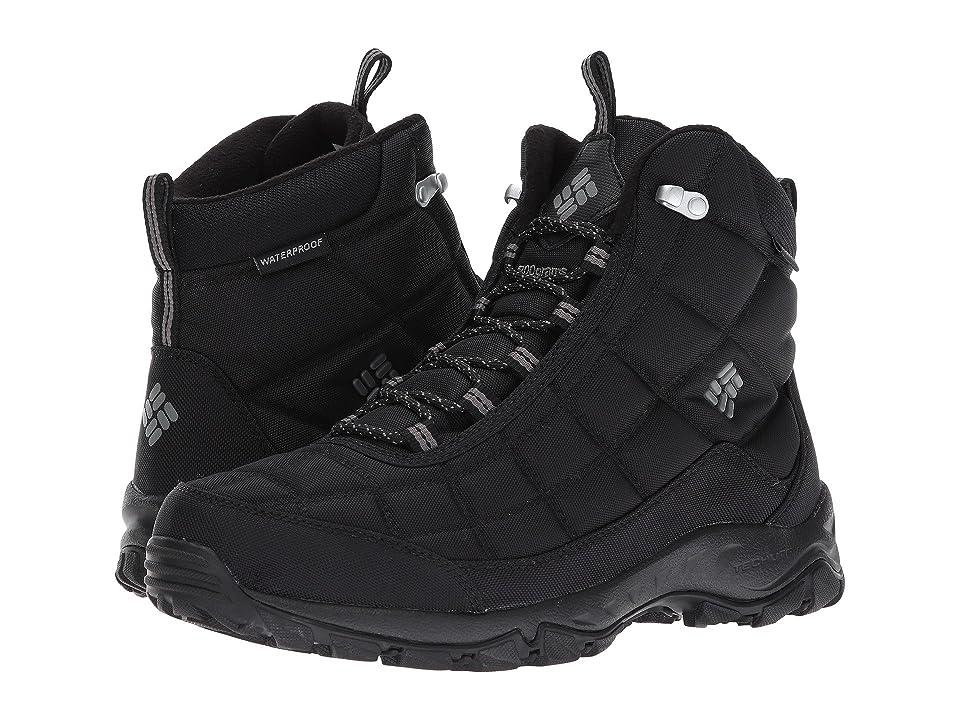 Columbia Firecamp Boot (Black/City Grey) Men