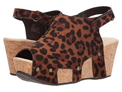 VOLATILE Daiquiri (Brown Leopard) Women
