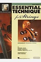 Essential Technique for Strings with EEi: Cello (Intermediate Technique Studies) Bk/Online Media Paperback