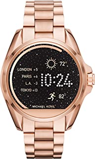 Michael Kors Access Rose Goldtone Bradshaw Touchscreen Smartwatch, 45mm