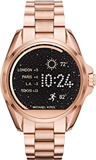 Michael Kors Access, Women's Smartwatch, Bradshaw Rose Gold-Tone Stainless Steel, MKT5004