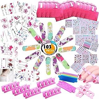 girls nail party