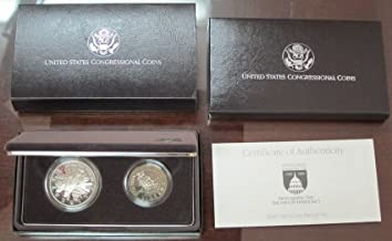 1989 congressional 2 coin set