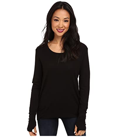 LAmade Thermal Top With Thumbholes (Black) Women
