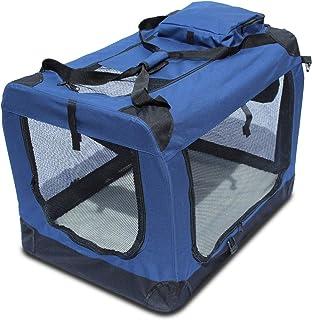 comprar comparacion YATEK Transportin para Perros Plegable entradas Laterales y Superiores con Alta Visibilidad, Confort y Seguridad para tu M...