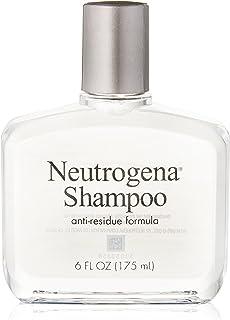 Neutrogena Anti-Residue Shampoo, Gentle Non-Irritating Clarifying Shampoo to Remove Hair Build-Up & Residue, 6 fl. oz (Pac...