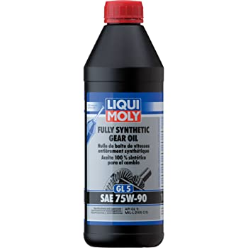 Liqui Moly (2048) SAE 75W-90 Fully Synthetic Gear Oil - 1 Liter