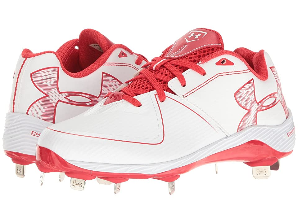 Under Armour UA Glyde ST (White/Red) Women