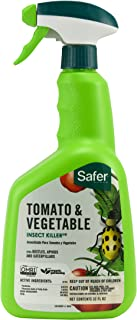 Safer Brand 5085-6 Tomato & Vegetable Insect Killer, 32 oz