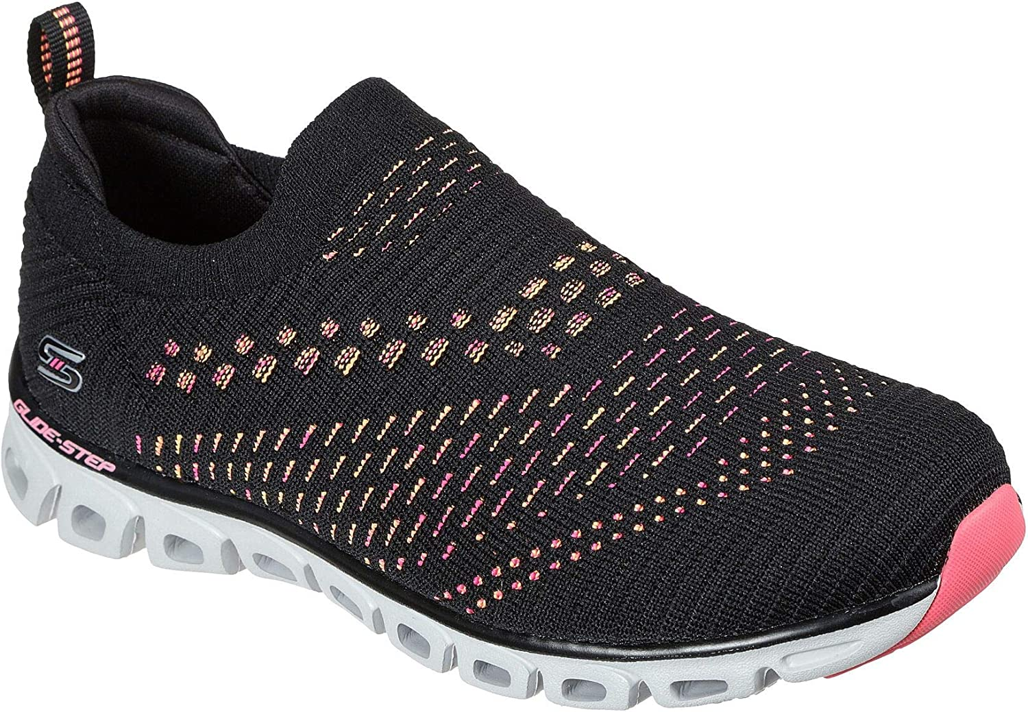 Department store Skechers Women's Glide Step - 55% OFF Oh Pink So Black Hot Soft Sneaker