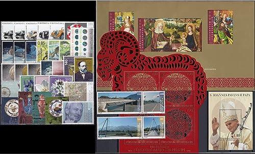 Goldhahn Liechtenstein 2014 postfrisch  Briefmarken für Sammler