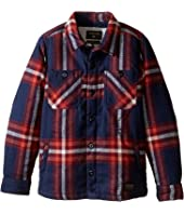 Quiksilver Kids - The Game Play Long Sleeve Woven Top (Toddler/Little Kids)