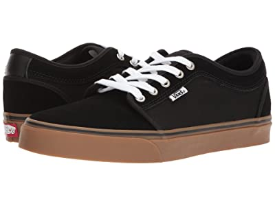 Vans Chukka Low (Black/Black/Gum) Skate Shoes