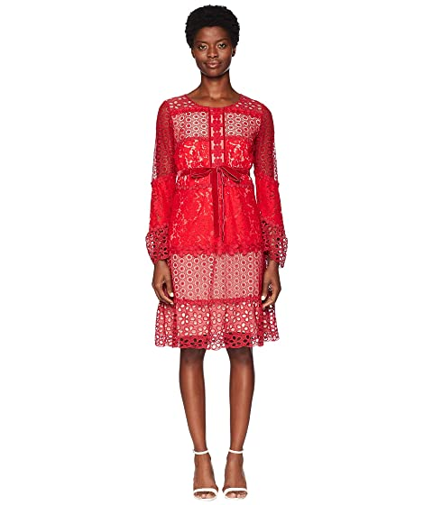 Boutique Moschino Patchwork Lace Dress
