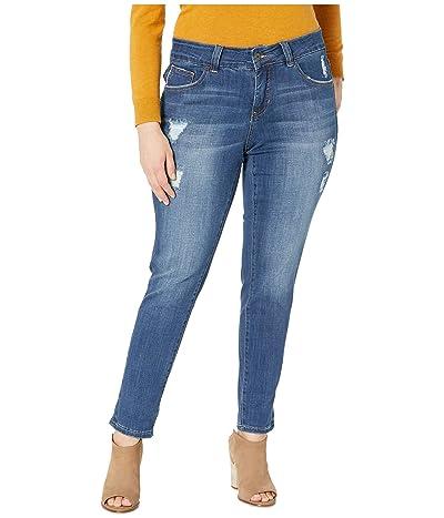 Jag Jeans Plus Size Plus Size Carter Girlfriend Jeans (Thorne Blue) Women