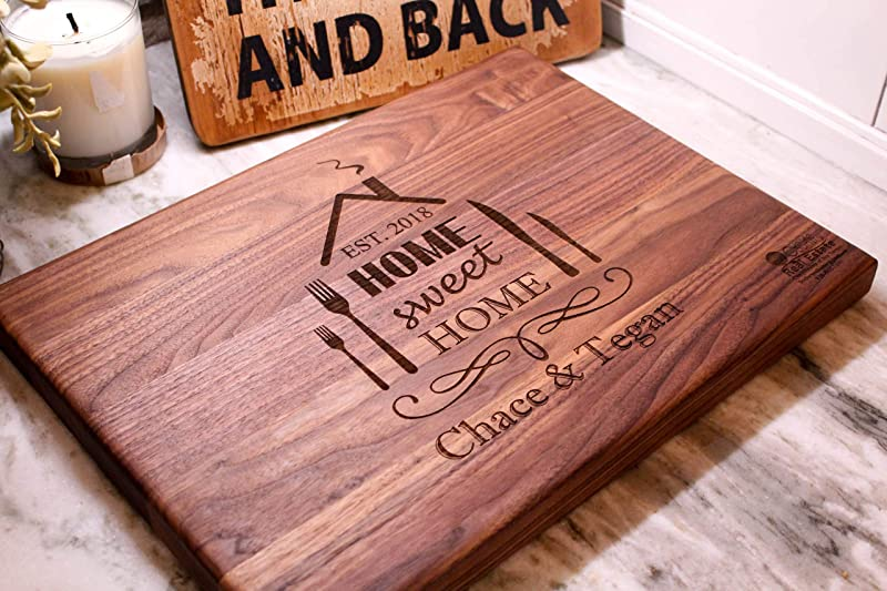 Real Estate Closing Gifts Housewarming Gifts Add Your Logo And Information To This Cutting Board