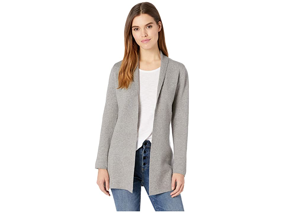 Cupcakes and Cashmere Benjamin Shawl Collar Knit Jacket (Heather Grey) Women