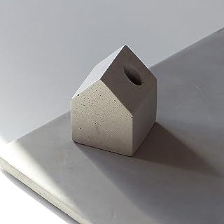 Atelier Ideco - Casa en Forma de Bolígrafo Concreto Puerta - 4,5 Cm Cuadrados