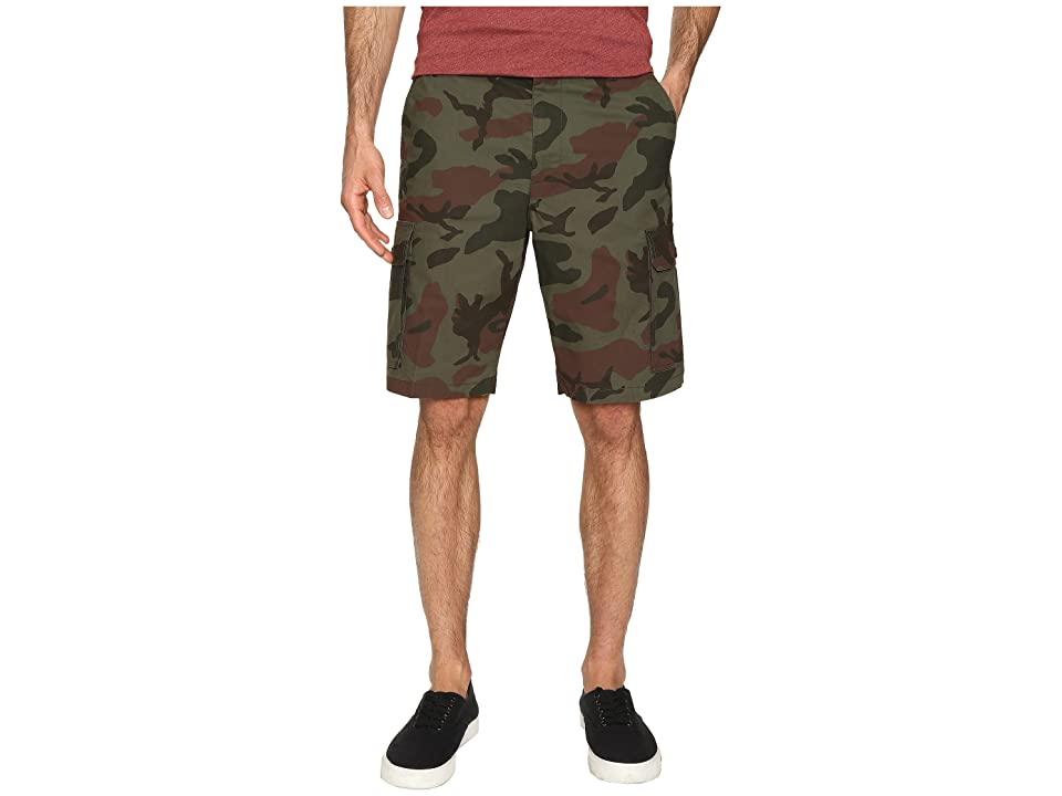 Dockers Standard Washed Cargo Shorts (Pantego F Good Camouflage) Men