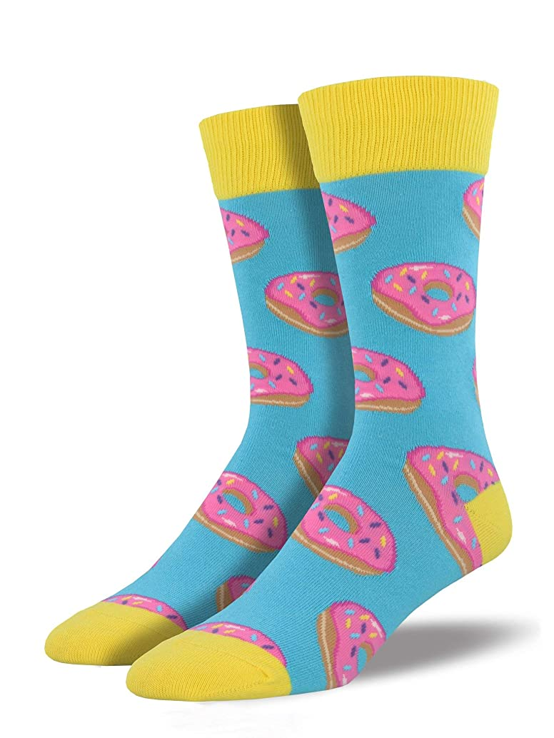 Socksmith Mens' Novelty Crew Socks