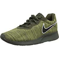 Nike Men's Tanjun Premium Running Shoes (Cargo Khaki/Black/Natural Olive)