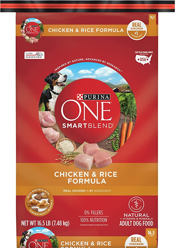 Purina ONE SmartBlend Natural Adult Dry Dog Food | Chewy