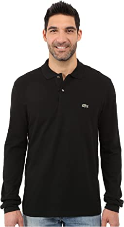 Long Sleeve Classic Pique Polo Shirt