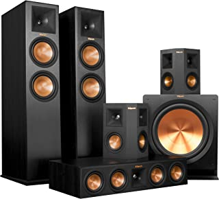 Klipsch RP-280F Home Theater System Bundle (Ebony) with Denon AVR-X4200W