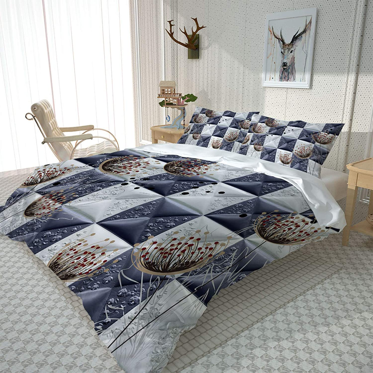 Limited price HKDGHTHJ 3D Bedding Outlet SALE is Super Comfortable Plant and Soft Dandelio