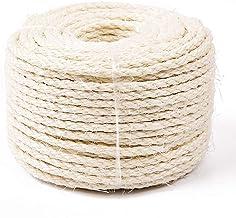 Yangbaga Cat Natural Sisal Rope for Scratching Post Tree Replacement, Hemp Rope for..