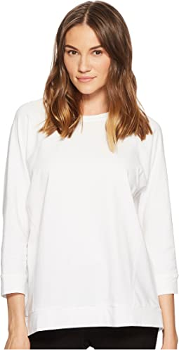 Eileen Fisher - Bateau Neck Box-Top