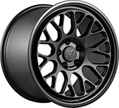 Fifteen52 FF08 Matte Black Wheel with Painted (19 x 9.5 inches /5 x 130 mm, 45 mm Offset)