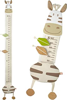 zebra growth chart