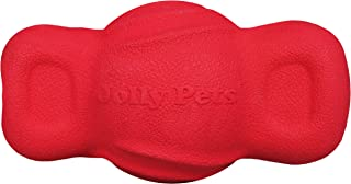 Jolly Pet Tuff Teeter Bouncing Treat Dispenser Dog Toy, 5 Inches, Red (JTR52)