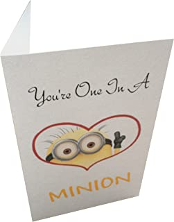 You're One In A Minion Greeting Card