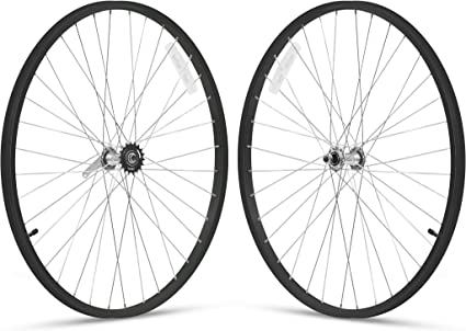 26 Front//Rear Vanilla Firmstrong 1-Speed Beach Cruiser Bicycle Wheelset